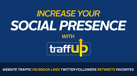 Traffup Get free traffic to your website or blog in just 1minute