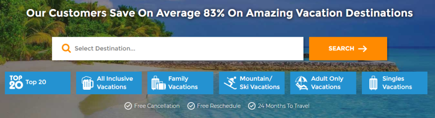 BookVIP has guaranteed lowest pricing on vacation packages to Cancun,Cabo San Lucas,Orlando,Caribbean,Las Vegas and muchmore!