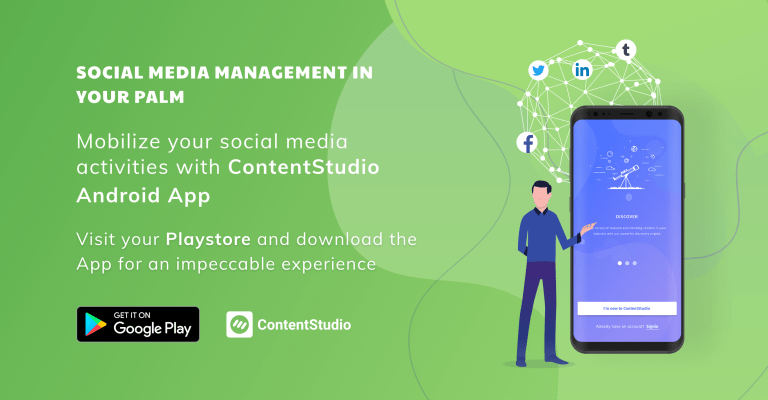 ContentStudio offers a complete content marketing and social media managementsolution