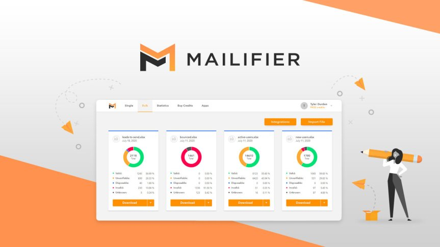 Get the Mailifier Lifetime Deal and verify your emails on autopilot with the bulk email verifier