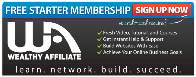 Join Wealthy Affiliate Now!Turn Your Passion Into a Thriving Online Business